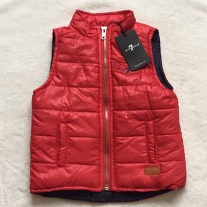 7 For All Mankind Puffer Vest